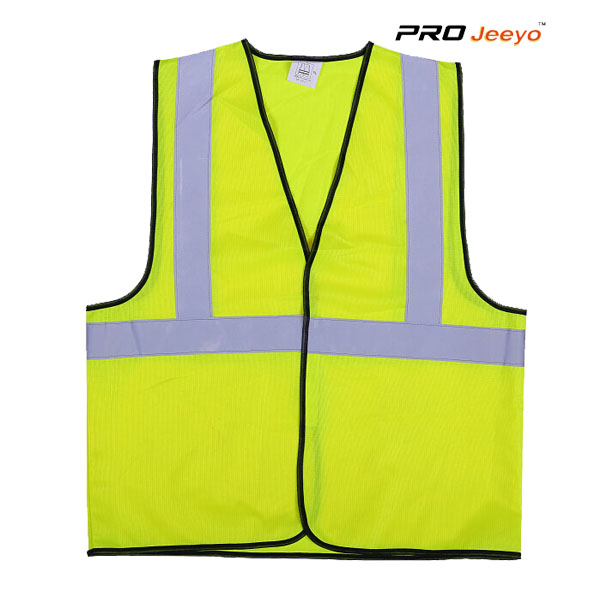Reflective Hi Vis Safety Polyester Dty Soft Running Vest