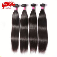 100% unprocessed virgin color human weft malaysian indonesian hair