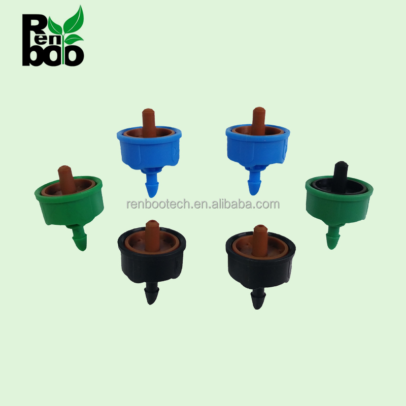 New Design Anti-drop Pressure Compensating Irrigation Dripper for Orchard / Trees Irrigation