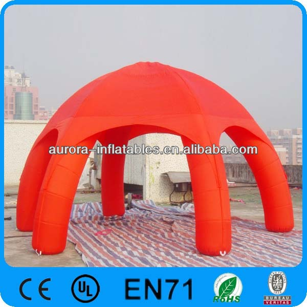 Promotion inflatable lawn tent for outdoor exhibition