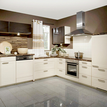 Modern Home Furniture Mdf Pvc Kitchen