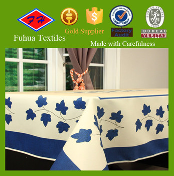Printed Different Types Of Table Cloth Fabric Buy Table Cloth