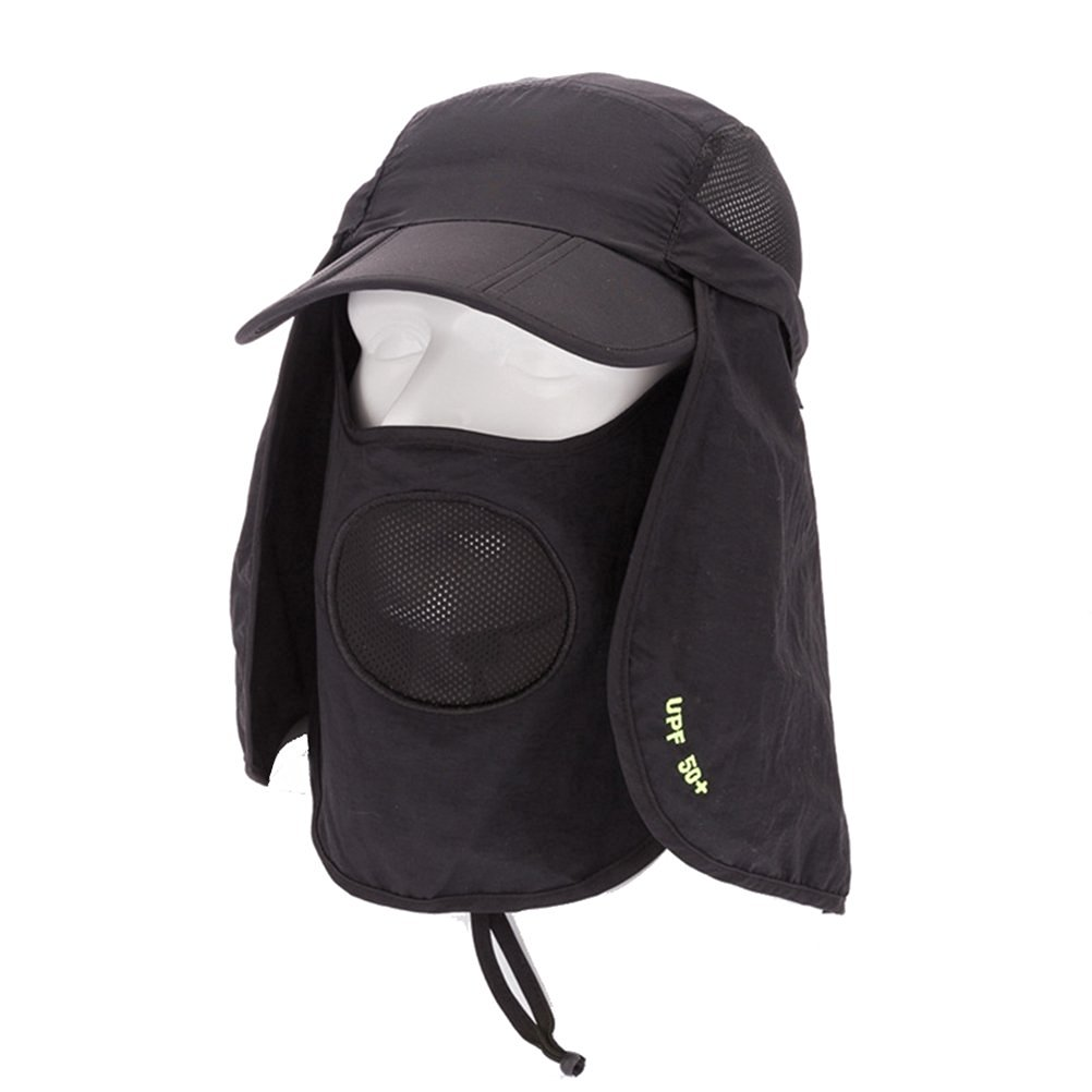 dcc28d49885b0 Eforstore Outdoor Women Men 360 Degree Anti-UV Sun Protection Windproof  Summer Fishing Cap Neck