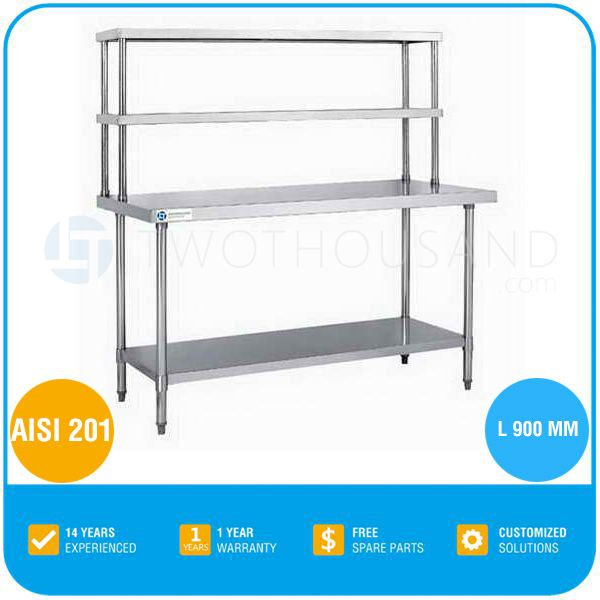 Food Storage Rack   AISI 201, L 900 MM, TT BC309A