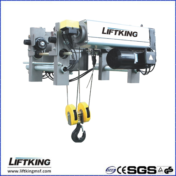 LIFTKING ABM motor electric wire rope hoist for european overhead crane