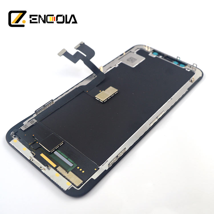 wholesale best price lcd screen for iphone X replacement used, As picture or can be customized