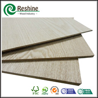 2200*2800mm white oak veneer mdf board