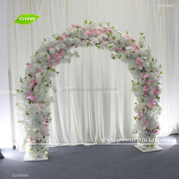 Gnw Flwa1707011 Indian Wedding Stage Decor Artificial Cherry Flower