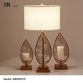 Table Lamp Lights Cordless Flower Tree Leaf Shaped Led Portable Office Bedroom Decorative