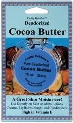 Bulk Buy: Boleks Deodorized Cocoa Butter 1 Ounce/Pkg (6-Pack)