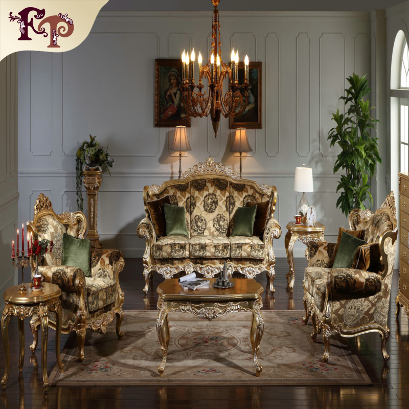 Royal Gold Leaf Gilding Solid Wood