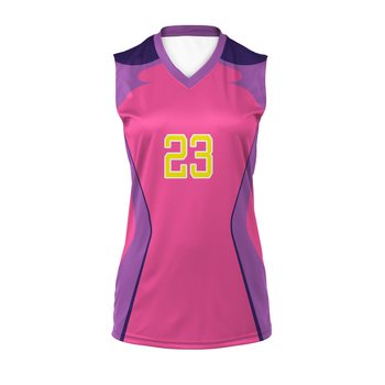 Custom design latest volleyball jersey design sports sleeveless volleyball jersey
