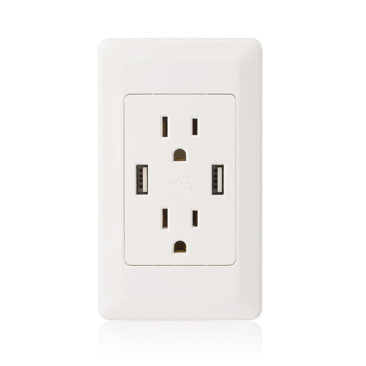 Cheap Usb Socket Outlet Find Deals On Line At Cooper Wiring Devices 15 Amp Decorator Charging Electrical Get Quotations Greencycle 1 Pk Dual Plug Wall Us Power Adapter With