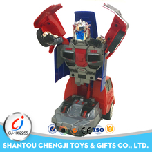 1/18 remote control deformation electronic stunt robot car