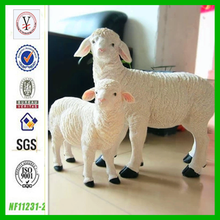 factory custom wholesale resin animal life size resin sheep