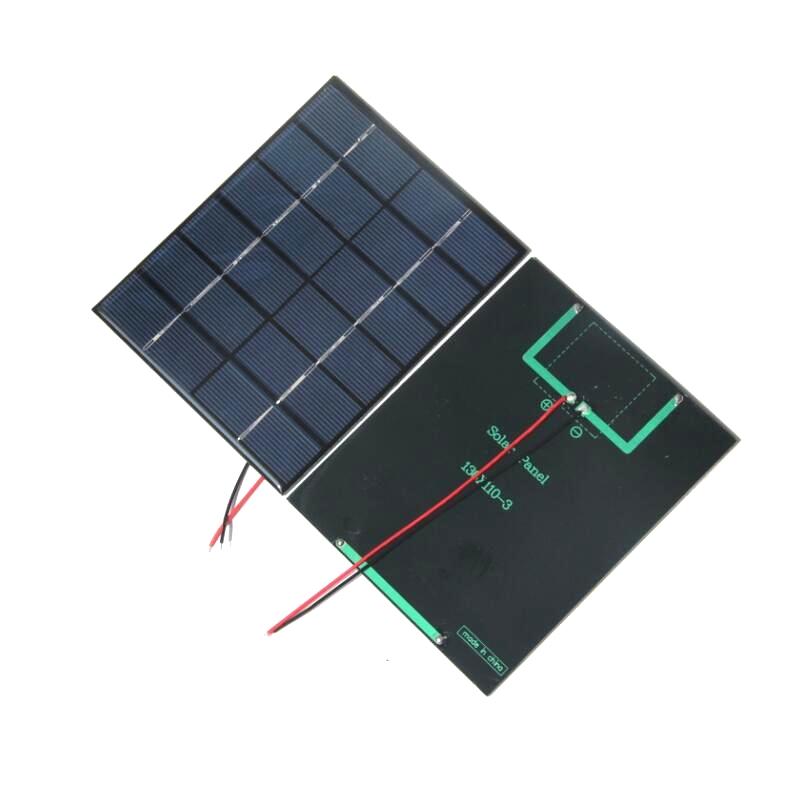 Painel solar policristalino do módulo 2 w