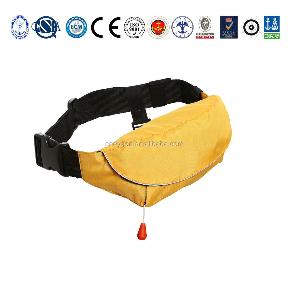 Marine waist bag inflatable life vest for sea <strong>fishing</strong>