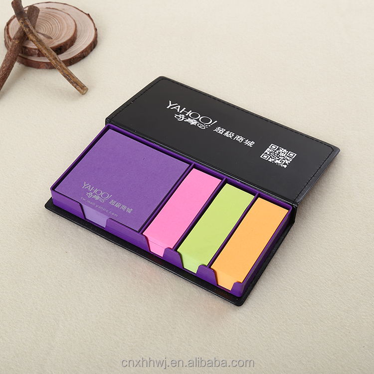 printed arrow sticky note