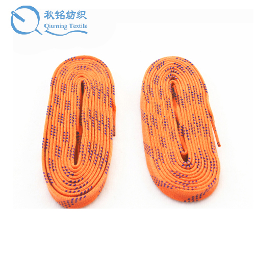 Customized sizes and colors heavy waxed hockey shoe lace <strong>manufacturing</strong>