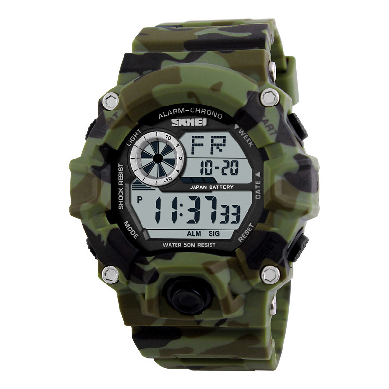 Hot sale digital watches relojes deportivos waterproof sport men military watch wrist skmei 1019, Customized can be available
