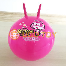 PVC hopper ball toy for kids vinyle inflatable bouncing ball jumping ball factory supplier