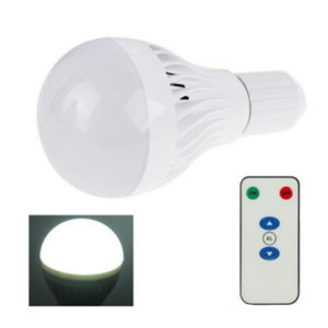 with e26,e27 for white color temperature 7w led rechargeable magic lighting led light bulb and remote