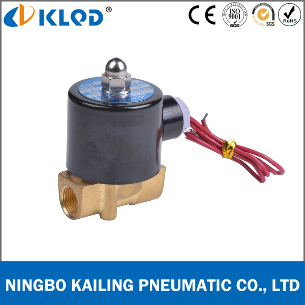 2W025-08 normally closed 1/4 inch water solenoid valve 220v <strong>ac</strong>