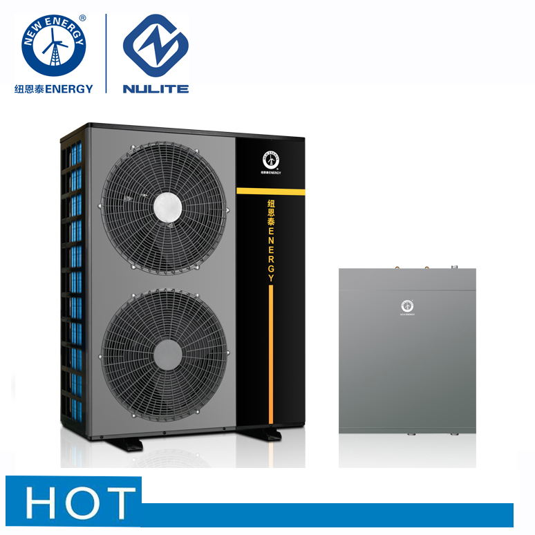 new 2019 trending product 20kw r410a split hot water heating and cooling air to water dc inverter heat pump