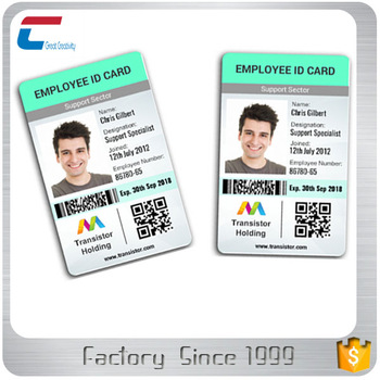 Sample Employee Id Card/Student Id Cards - Buy Sample Employee Id