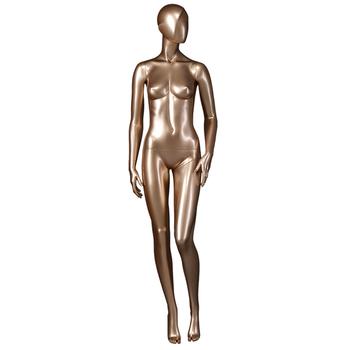 e924b7a0a Estilo de la moda sexy CUERPO DORADO pie maniquí de ropa interior femenina  para vidriera exhibición