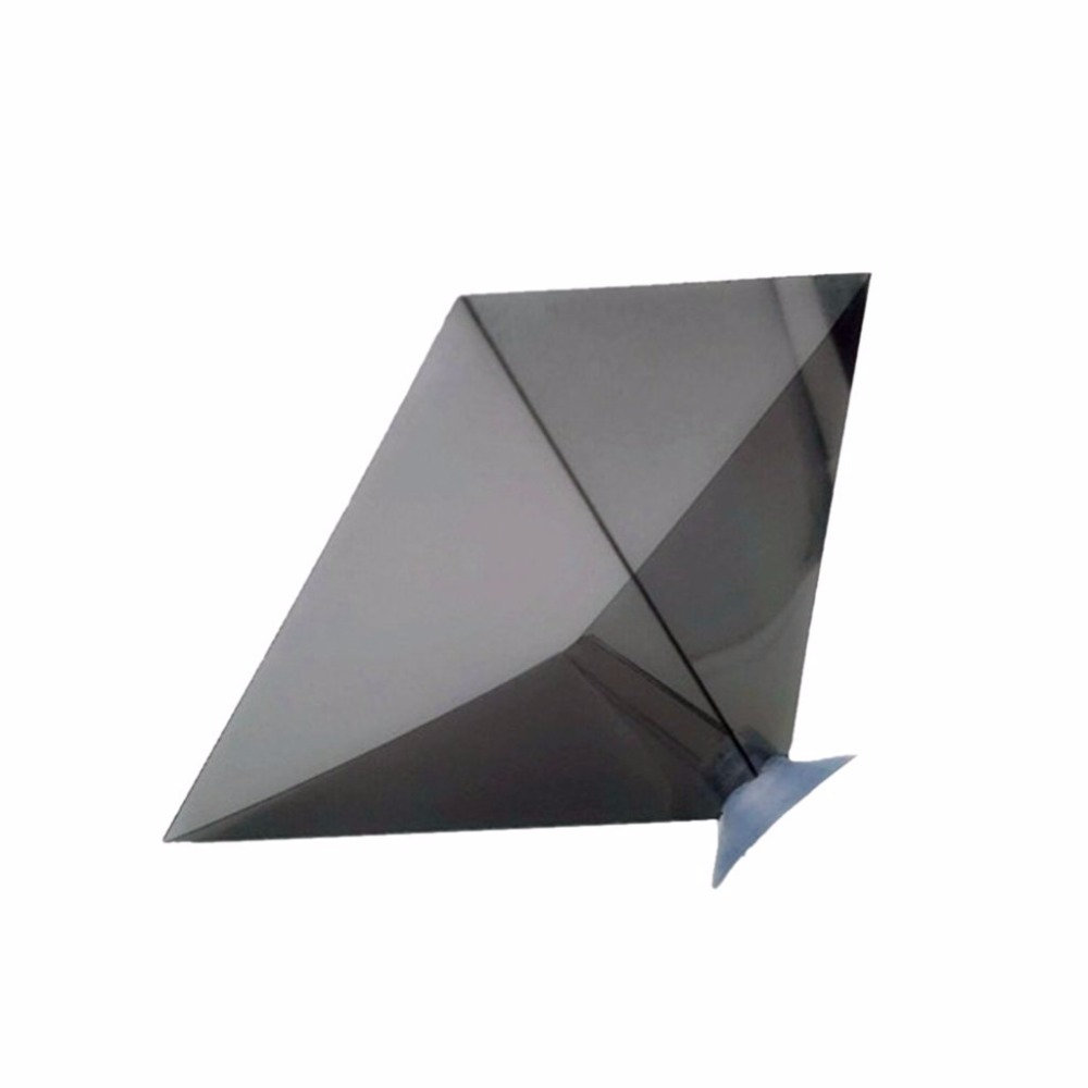 "DIY 3d pyramid hologram for 3.5-6.0"" smart phone"
