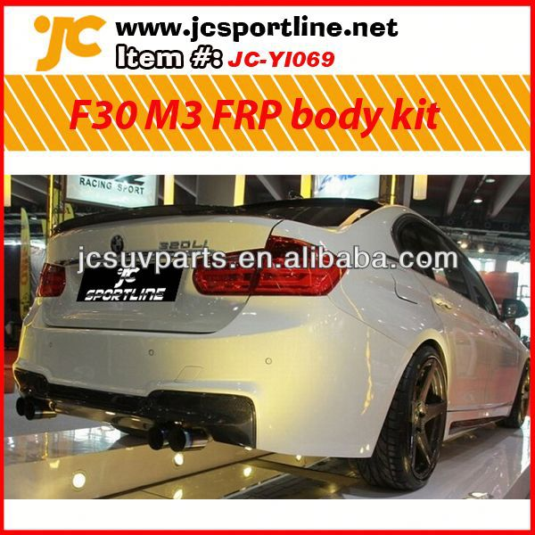 Car FRP facelift F30 M3 body kit car body repair kit for BMW F30 body bumper kits