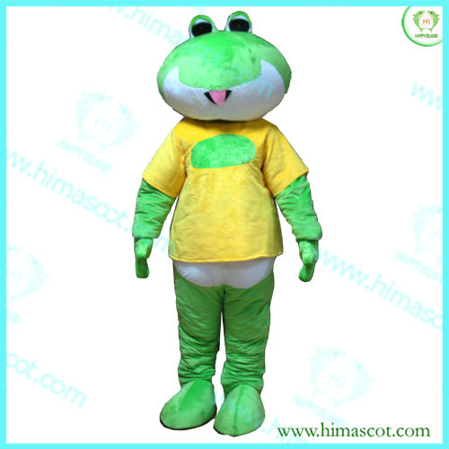 HI CE frog mascot costumes for adults
