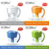 Wellblue Plastic Water Pitcher With Alkaline Filter Cartridge