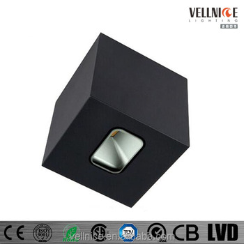 Vellnice 6w Up Down Outdoor Led Wall Lighting Led Luminaire
