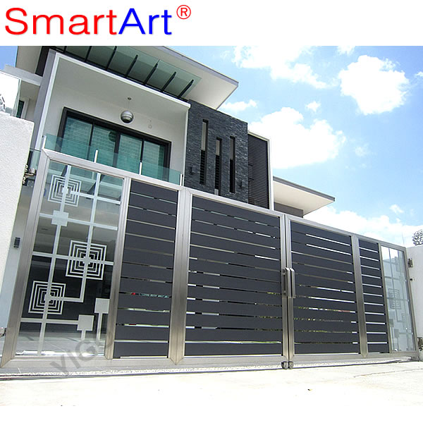 Sliding Gate Design / New Design Iron Gate / Main Iron Gate - Buy ...