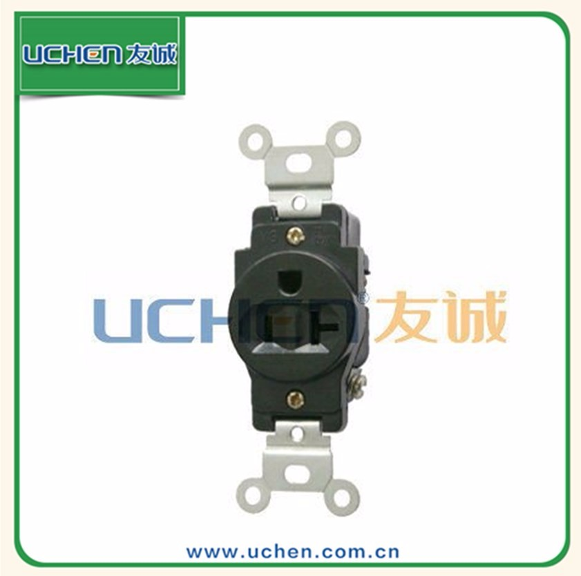 YGB-002 20A 125V industrial use anti-electdc shock CE electrical electrical 2 pin connector plug
