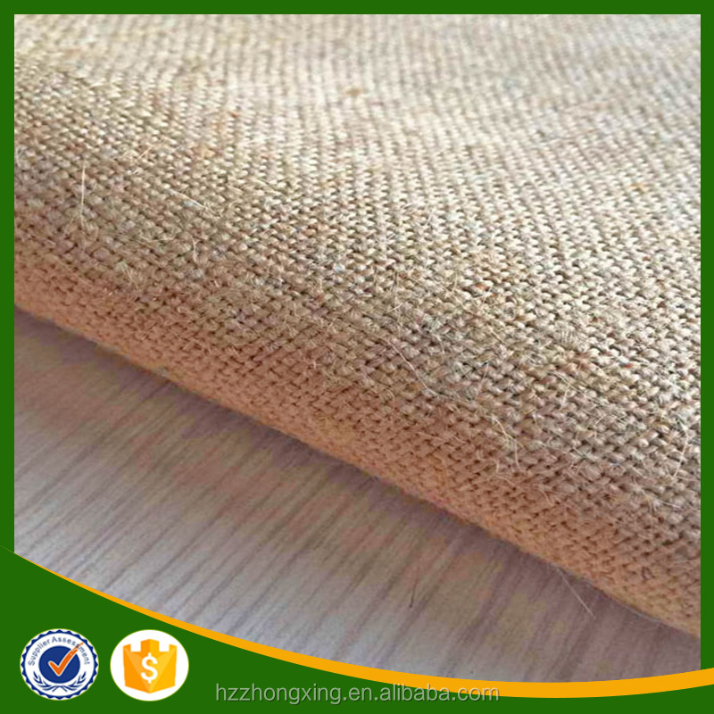 Natural Type Of Jute Material Fabrics