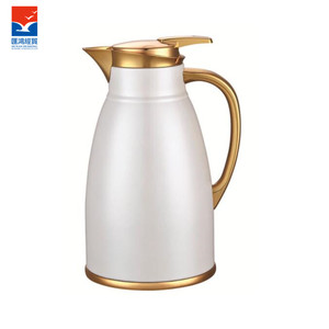 2895MGS Color body with golden flower vacuum flask, wholesale price,thermos flask