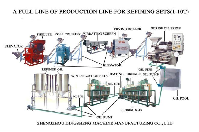 30t D Mexico Animal Fat Beef Tallow Oil Refining Plant