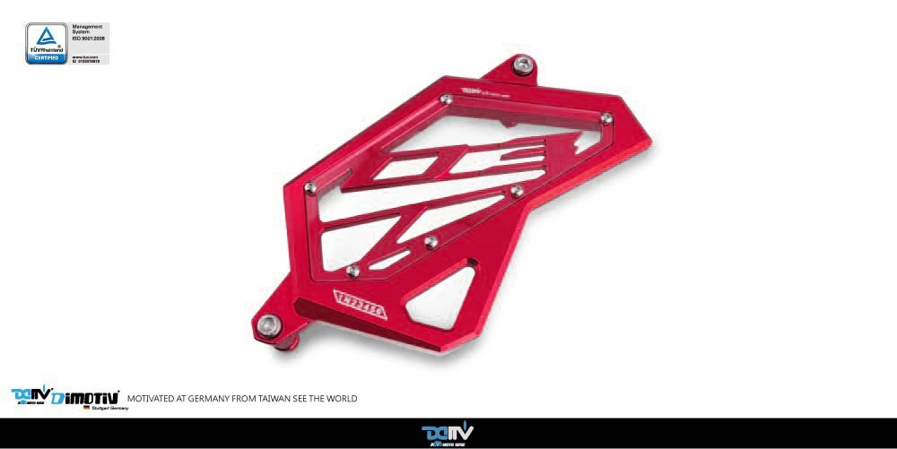 Dimotiv DMV Front Sprocket Cover for YAMAHA MT-03 2015-2016 (RED)