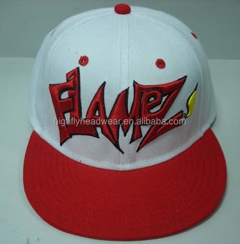 44c27e17 Wholesale Custom High Quality Acrylic 3D Embroidery Logo Flat Brim Snapback  Caps And Hats For Man