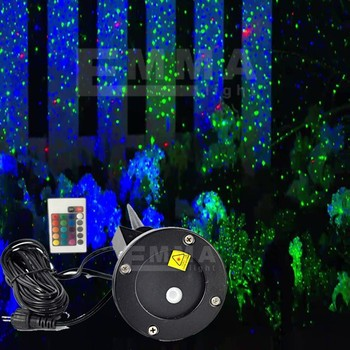 Christmas Lights Projector Outdoor Laser/green And Blue Moving ...