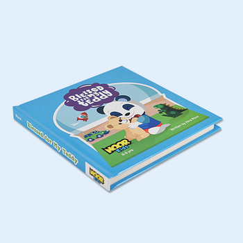 round conner board book english story personalized book for America market