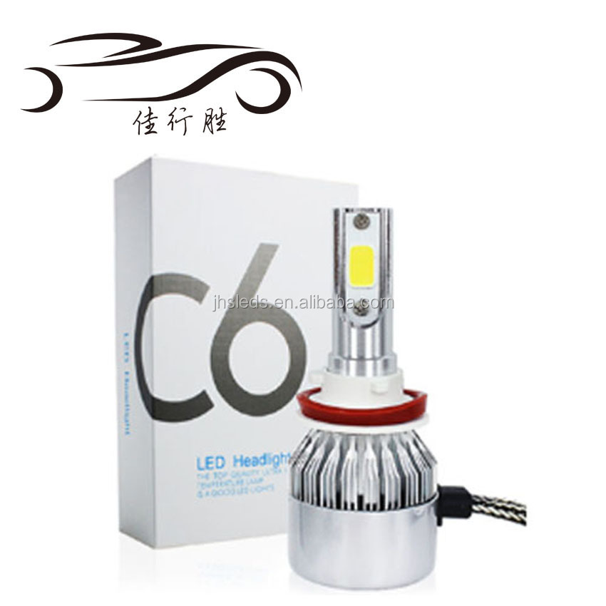 Factory Supply 9005 HB3 9006 HB4 H11 H4 H7 Led H1 H3 Auto Car LED 전조등 6000 K 빛 Bulbs c6 LED Head 빛 36 W 3800lm