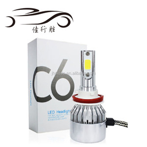 Factory Supply 9005 HB3 9006 HB4 H11 H4 H7 Led H1 H3 Auto Car LED Headlight 6000K Light Bulbs C6 LED Head Light 36W 3800lm