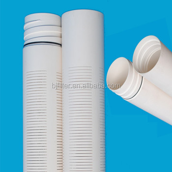 Bjf Good Quality Food Grade Cut Slotted Pvc Casing Pipe
