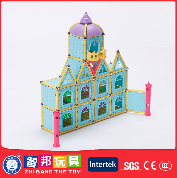 Economical Custom Design Plastic Kids Magnetic Rod Toys