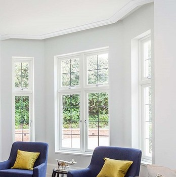 Cheap pvc /upvc soundproof house building windows for sale in China