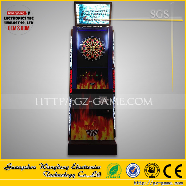 (WD-B08 )cheapest dart game machine/coin operated arcade dart game/ dart boards for sale